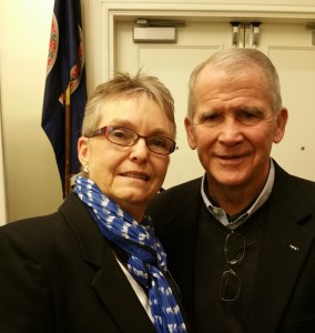Photo of Barbara Null and Ollie North